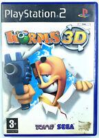 Worms 3D - Jeu Playstation 2 / PS2 - Avec notice - PAL FR