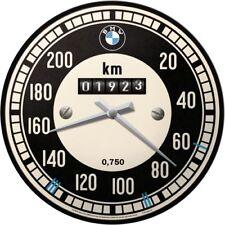 BMW Motorrad Tacho Wanduhr Original BMW Uhr Retro Werkstatt Shop Service Schild
