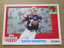 2005 TOPPS ALL-AMERICAN FOOTBALL DANNY WUERFFEL FLORIDA GATORS
