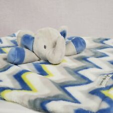 Blanket and Beyond Elephant Security Blanket Plush Lovey Fluffy