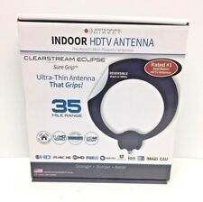 Antennas Direct ClearStream Eclipse Sure Grip ULTRA-THIN Indoor HDTV Antenna ECL