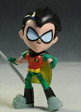 """TEEN TITANS-ROBIN power action karate chop+accessories-7.5"""" figure-new/sealed"""
