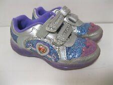 Stride Rite Disney Princess Ariel Sparkle Light Up Sneaker Size 9 M