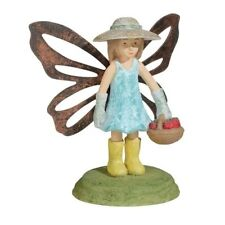 Grasslands Road - In The Garden - Mini Fairy Statue - 464306 (Blue with Hat)