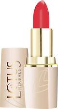 Lotus Herbals Lipstick Pure Colors Moisturizing Lip Color , 636 Spanish Crimson