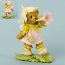 HTF Cherished Teddies 2013 Figurine Fern Lily Fairy Wings Signed 4035932