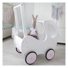 Puppenwagen holz , dolls holzwagen mit der bude 50 x 49 x 33cm