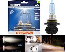 Sylvania Silverstar 9012 HIR2 55W Two Bulbs Head Light Dual Beam Replacement OE