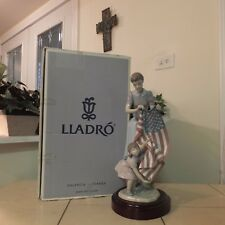 Lladro American Flag 4Th Of July Limited Edition 6520 Mint Box Fast Shipping!