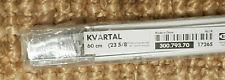 Ikea Kvartal Laufleiste 60cm für Schiebegardine + Beschwerungsleiste *