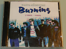 Burning - Cinco años con - RARE 80's Spanish Rock OOP 2cd Asfalto Bloque