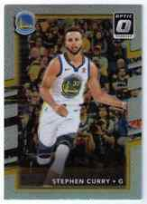 2017-18 Silver Prizm Refractor Stephen Steph Curry Golden State Warriors #46