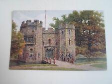 A R QUINTON Postcard 3053 PALACE DRAWBRIDGE, WELLS    Unposted  §A2872