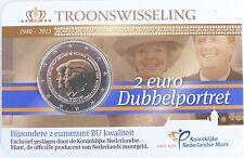 2 Euro commémorative des Pays-Bas 2013 Brillant Universel (BU) - Abdication