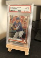 2019 TOPPS CHROME PETE ALONSO #204 PSA 10 GEM MINT! ROOKIE NEW YORK METS RC 🔥🔥