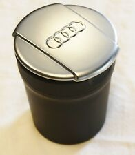 GENUINE AUDI A3 Q3 Q5 Q7 CHROME ASHTRAY STORAGE CUP ASHTRAY COIN HOLDER