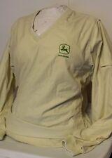 Charles River Apparel Women's Yellow John Deere Golf Windbreaker Jacket Medium