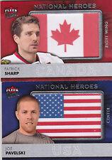 14-15 Fleer Ultra Joe Pavelski National Heroes USA 2014
