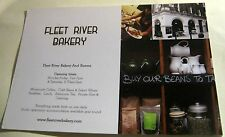 Advertising Fleet River Bakery London - posted 2013