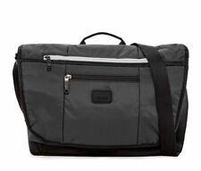 Tumi Lombard Expandable Nylon Messenger bag in Gray