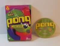 Pong The Next Level PC CD-Rom 1999 windows action arcade paddle game free ship