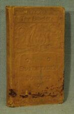 The Bibelots Small Antico Vecchio Marrone pelle Libro Shakespeare's Sonnets