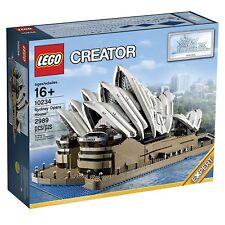 LEGO Sculptures - Rare - Sydney Opera House 10234 - New & Sealed
