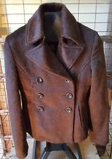 Guess Alpaca/Wool Short Waisted~Double Breasted Jacket sz. XS