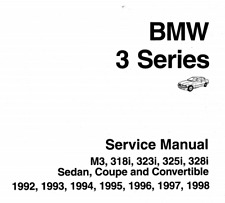 Workshop Manual BMW 3 Series E36 Model Years 1991 to 1999