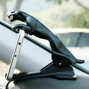 Car Leopard Form Dashboard Phone Holder 360 Degree Phone Mount Stand Bracket