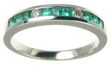 Ringe mit Edelsteinen für den Jahrestag echten natürliche Diamant