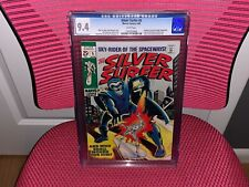 Silver Surfer #5 CGC 9.4 White Pages Fantastic Four Stranger