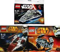 3x LEGO Star Wars Raumschiffe 30277 30272 30275 Neu & OVP im Polybeutel