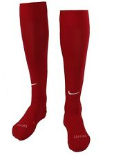 Nike Adult Classic Cushioned Over-the-Calf Soccer Sock,Red, Large   (E68-NSK)