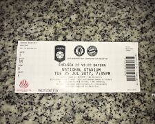 Sammler Used Ticket Test Chelsea FC Bayern München 25.07.17 FCB Singapur