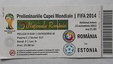 TICKET LS 15.10.2013 Rumänien - Estland