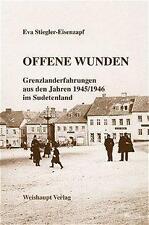 Offene Wunden von Eva Stiegler-Eisenzapf (2004, Taschenbuch)