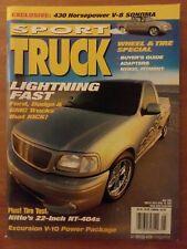 Sport Truck Magazine May 2001 Excursion V-10, V-8 Sonoma