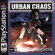 Urban Chaos For PlayStation 1 PS1 Game Only 5E