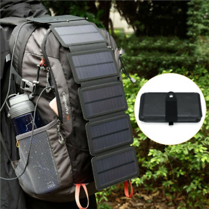 Solar Power Bank Mountaineer Outdoor CampingPortable Cell Phone Charger Panel