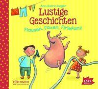 ANN-KATRIN HEGER - LUSTIGE GESCHICHTEN.FLAUSEN,FAXEN,FIRLEFANZ  CD NEW