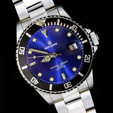 New Mirvaine Divers Analog WATCH With Blue Face Quartz For Ladies Christmas Gift
