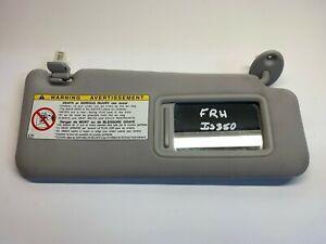 2006-2013 LEXUS IS250 IS350 SUN VISOR FRONT RIGHT SIDE TAN OEM