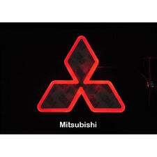 LED Car Tail Logo Auto Badge Red light for Mitsubishi Lancer EX Outlander