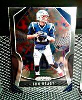 2019 Tom Brady Panini Prizm Football Card Beautiful Shine