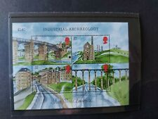 GB Stamps 1989 Minisheet Industrial Archaeology