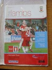 28/10/2006 Tamworth v Harrogate Town [FA Cup] . No obvious faults, unless descri