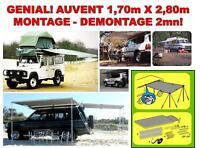 SPECIAL TRUCK CAMION DEPANNEUR 4X4 ! AUVENT CLIC-CLAC 1,70 X 2,80 MONTAGE 2MN!