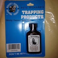 1 RICKARDS 100% GENUINE SKUNK COVER SCENT POTENT! Liquid for traps & trapping