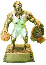 MONSTER FANTASY BASKETBALL TROPHY - FREE ENGRAVING - SHIPS IN 1 BUSINESS DAY!